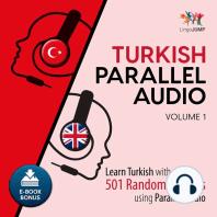 Turkish Parallel Audio, Volume 1