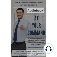 At Your Command by Neville Goddard