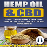 Hemp Oil & CBD