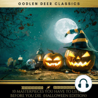 10 Masterpieces you have to listen before you die (Halloween Edition)