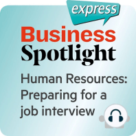 Business Spotlight express – Bereiche – Sich auf ein Bewerbungsgespräch vorbereiten
