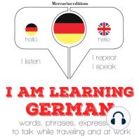 I am learning German