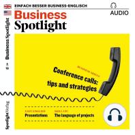 Business-Englisch lernen Audio - Telefonkonferenzen