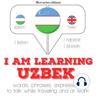 I am learning Uzbek
