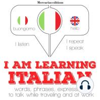 I am learning Italian