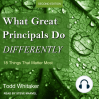 What Great Principals Do Differently