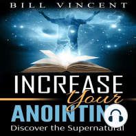 Increasing Your Anointing