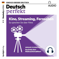 Deutsch lernen Audio - Kino, Streaming, Fernsehen