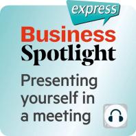 Business Spotlight express – Kompetenzen – Sich in einem Treffen vorstellen
