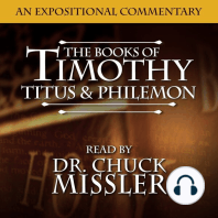The Books of Timothy, Titus & Philemon