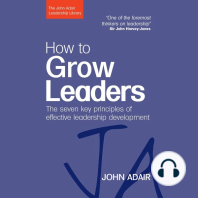 How to Grow Leaders