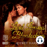 Lord Livesey's Bluestocking