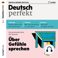 Deutsch lernen Audio - Über Gefühle sprechen
