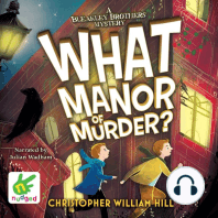What Manor of Murder