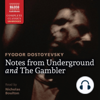 Notes from Underground and The Gambler