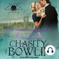 The Missing Marquess of Althorn
