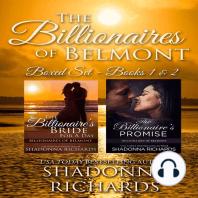 Billionaires of Belmont - Boxed Set Books 1-2