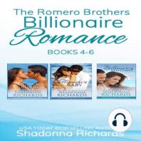 The Romero Brothers Boxed Set Books 4-6