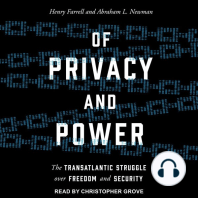 Of Privacy and Power