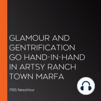 Glamour And Gentrification Go Hand-In-Hand In Artsy Ranch Town Marfa