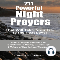 211 Powerful Night Prayers that Will Take Your Life to the Next Level