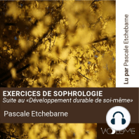 Exercices de sophrologie