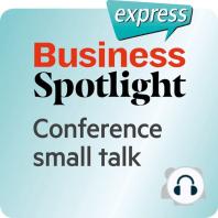 Business Spotlight express – Beziehungen – Small Talk auf einer Tagung