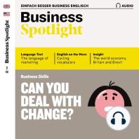 Business-Englisch lernen Audio - Umgang mit Veränderungen
