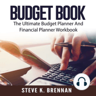 Budget Book: The Ultimate Budget Planner And Financial Planner Workbook