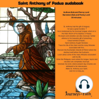 Saint Anthony of Padua audiobook: Miracle worker and Patron of Lost Articles