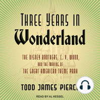 Three Years in Wonderland