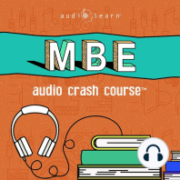 MBE Audio Crash Course: Complete Test Prep and Review for the NCBE Multistate Bar Examination