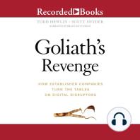 Goliath's Revenge: How Established Companies Turn The Tables On Digital Disruptors