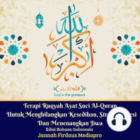 Terapi Ruqyah Ayat Suci Al-Quran Untuk Menghilangkan Kesedihan, Stres, Depresi Dan Menenangkan Jiwa Edisi Bahasa Indonesia