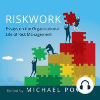 Riskwork: Essays on the Organizational Life of Risk Management