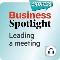 Business Spotlight express – Kompetenzen – Eine Sitzung leiten