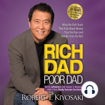 Rich Dad Poor Dad: 20th Anniversary Edition: What the Rich Teach Their Kids About Money --That the Poor and Middle Class Do Not!