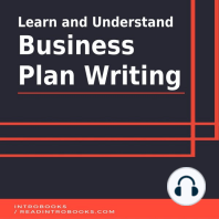 Learn and Understand Business Plan Writing