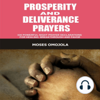 Prosperity And Deliverance Prayers