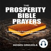 The Prosperity Bible Prayers