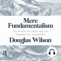 Mere Fundamentalism