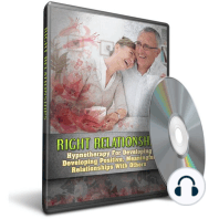 Hypnosis for Developing Positive Meaningful Relationships