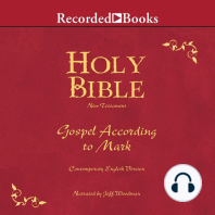 Holy Bible Gospel According To Mark Volume 23