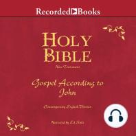 Holy Bible Gospel According To John Volume 25