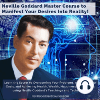 Neville Goddard Master Course to Manifest Your Desires Into Reality Using The Law of Attraction (Full Course)