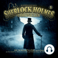 Sherlock Holmes Chronicles, Folge 1: Die Moriarty-Lüge