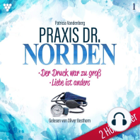 Praxis Dr. Norden 2 Hörbücher Nr. 1 - Arztroman