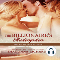 Billionaire's Redemption, The - Billionaires of Belmont Book 5