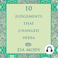 Ten Judgements that Changed India