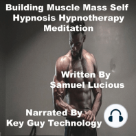 Building Muscle Mass Self Hypnosis Hypnotherapy Meditation